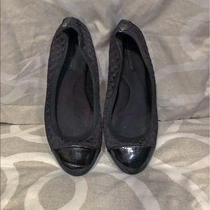 Dana Buchanan BLACK Stretch Ballet Flats Size 8
